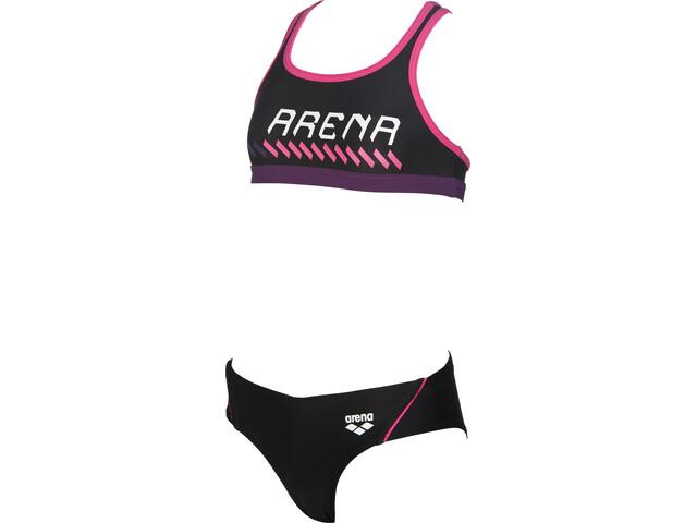 arena Sumo Bikini Barn pink/svart